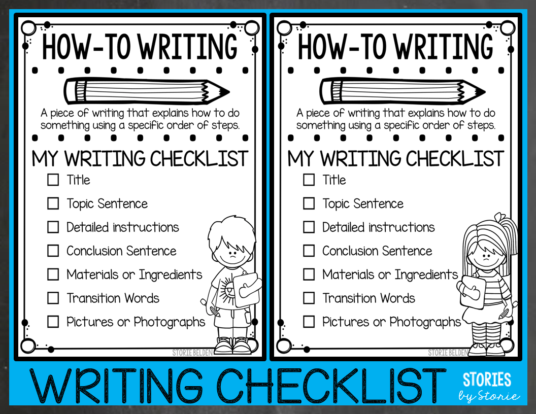 How-To Writing for 2nd Graders - Ideas and Resources [ 816 x 1056 Pixel ]