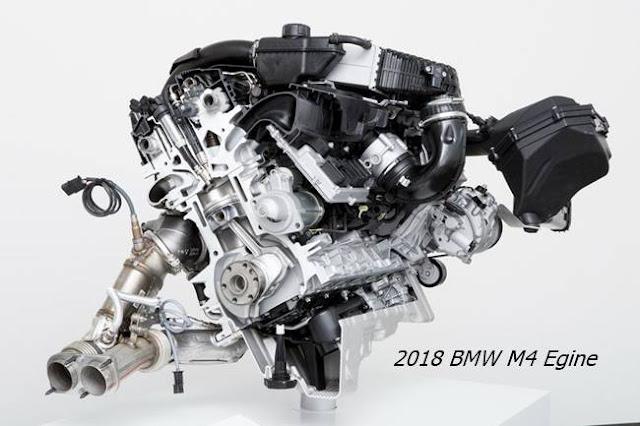 2018 BMW M4 Egine