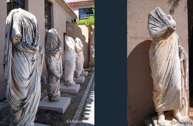 Antique Corinthe Peloponnèse Grèce