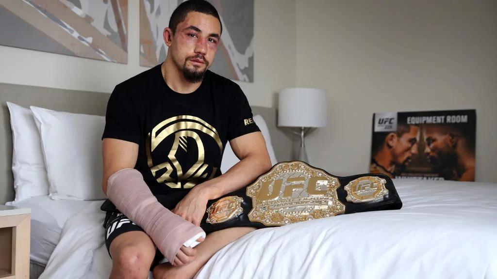 UFC225を戦い終えたロバート・ウ...
