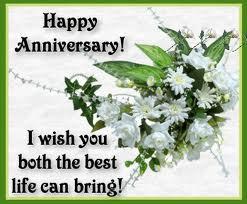 Wedding Anniversary Wishes Cake