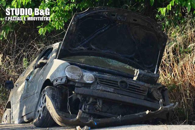 Τροχαίο ατύχημα με τρεις τραυματίες στο Άργος