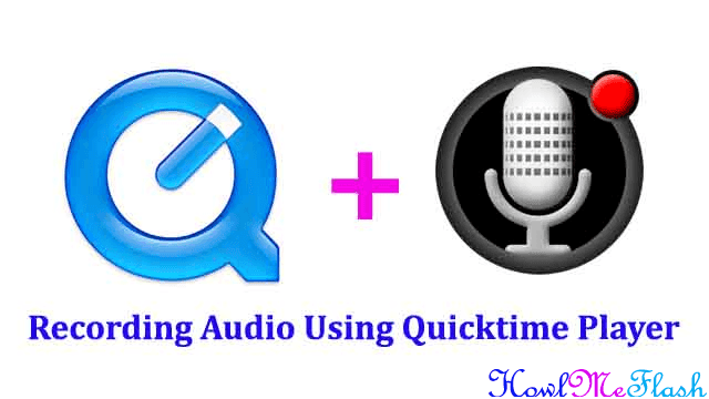 Make an Audio Recording Using Quicktime Player