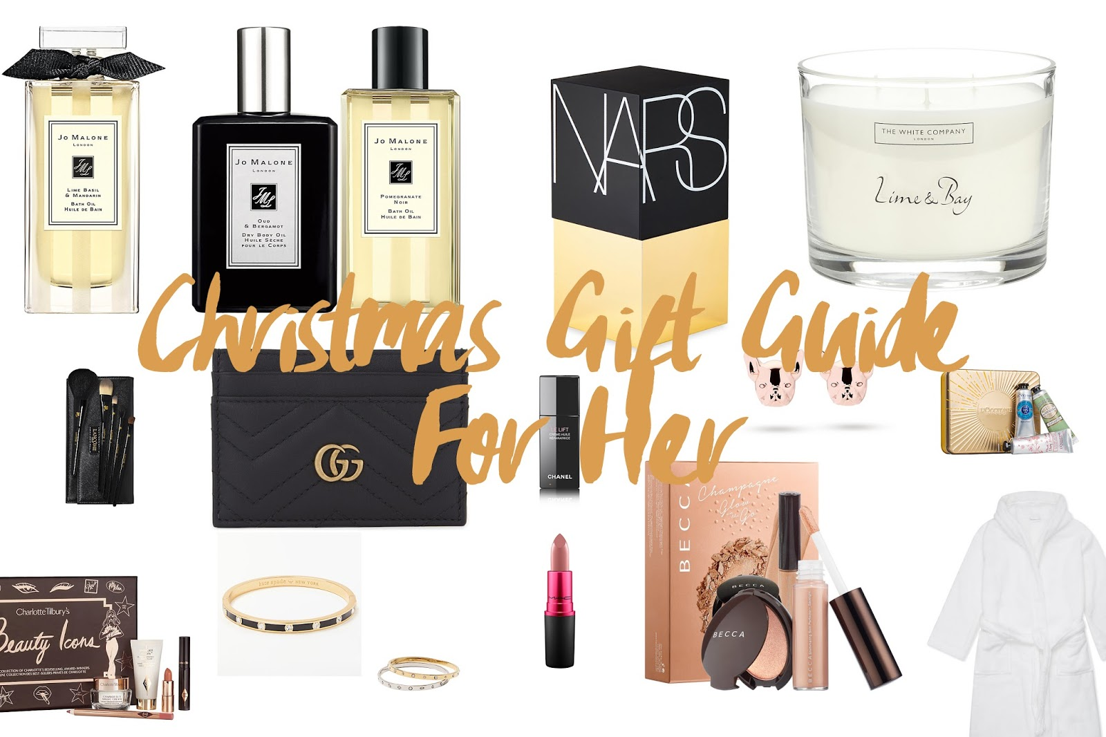 Gift Guide for her christmas 2017 luxury under 100 pound for mum for grandma