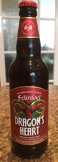 Felinfoel Dragon's Heart Beer