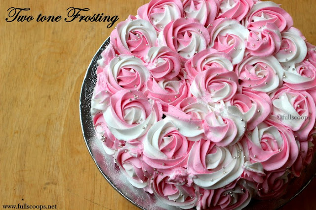 two tone frosting