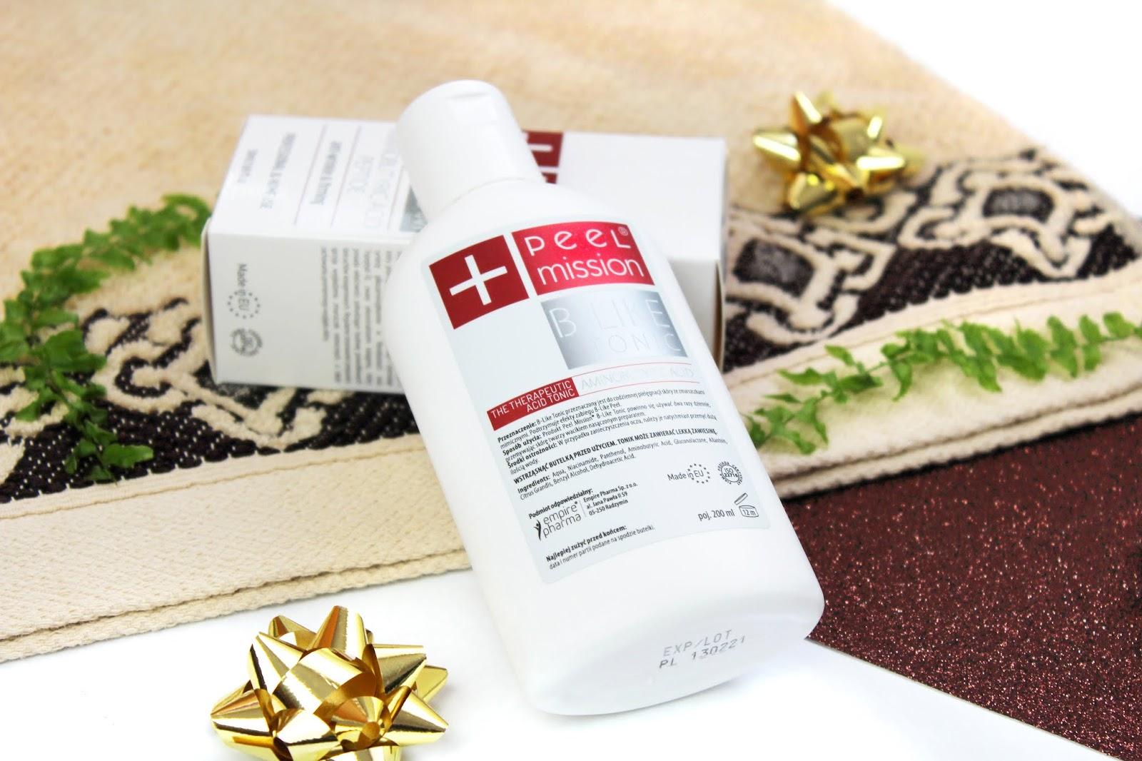 Peel Mission, B-Like Peel - tonik do walki z oznakami starzenia się skóry i redukcji zmarszczek mimicznych