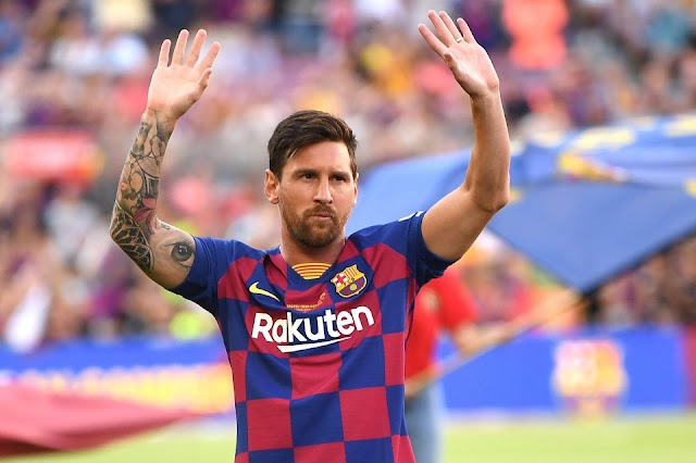 "Barcelona set to offer Lionel Messi a ""life contract"""