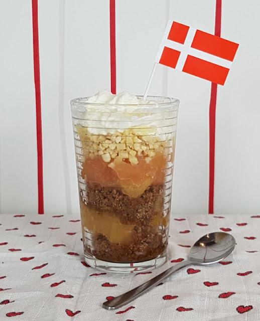 Rezept: Æblekage - der dänische Apfelkuchen, der keiner ist. Sondern ein leckeres Apfeldessert - und ich verrate Euch die Zubereitung!