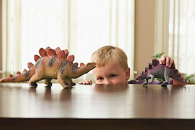Anak Bijak suka dinosaur