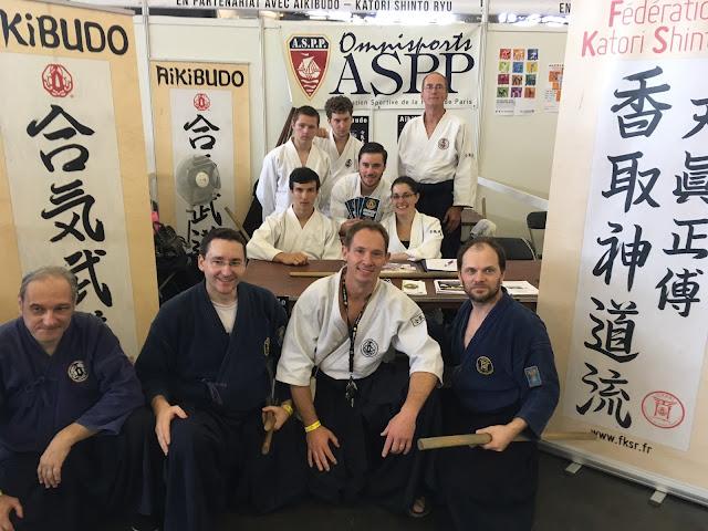 Equipe Aikibudo à la Japan Expo 2017