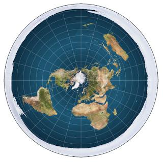 Konspirasi Flat Earth