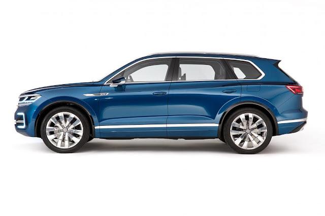 reveal 2017 Volkswagen Touareg next generation side view