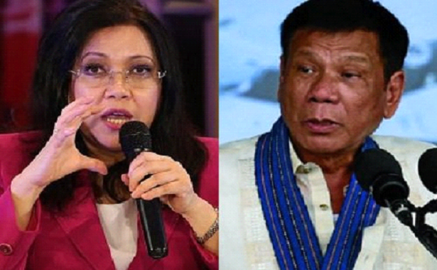 Sereno sends concern over public declaration of officials involved in illegal drug trade