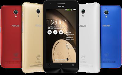 Spesifikasi Asus Zenfone C ZC451CG        Sama seperti ZenFone 4, Asus ZenFone C juga dipersenjatai dengan kamera belakang 5 megapiksel, tetapi Asus memberikan sedikit sentuhan. Kini di ZenFone C terdapat LED flash dan juga dilengkapi dengan fitur EIS untuk menghasilkan foto yang lebih baik di tempat yang gelap. Sementara kamera depannya tetap beresolusi 0.3 megapixel.     Peningkatan lain yang ditawarkan oleh ZenFone C adalah smartphone ini sudah menggunakan Android 4.4 KitKat dan memiliki baterai dengan kapasitas yang lebih besar, 2.100mAh. Selebihnya ZenFone C memiliki spesifikasi yang sama seperti ZenFone 4.     Asus ZenFone C ditenagai dengan chipset Intel Atom Z2520 dengan dukungan prosesor dual core 1.2GHz, dilengkapi dengan RAM sebesar 1GB dan memori internal sebesar 8GB, slot microSD up to 64 GB, DC-HSPDA up to 42.2Mbps, Bluetooth 4.0, Wi-Fi 802.11 b/g/n, dan GPS.  Kelebihan   Optional Dual SIM (Micro-SIM, dual stand-by).  Jaringan 2G GSM , jaringan 3G HSDPA.  Jaringan data GPRS serta EDGE.  Luas layar 4.5 inches, 480 x 854 pixels (~218 ppi pixel density).  Teknologi layar IPS LCD capacitive touchscreen, 16M colors.  Multitouch up to 5 fingers.