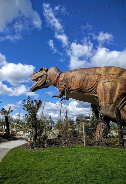 Tayto Park - T-Rex Dinosaur