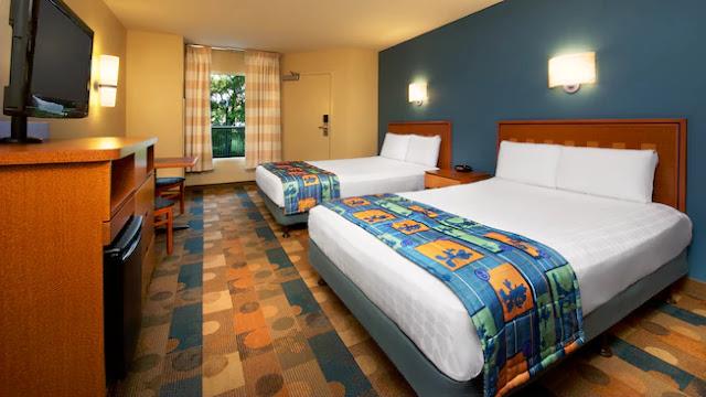Quarto do Hotel Pop Century