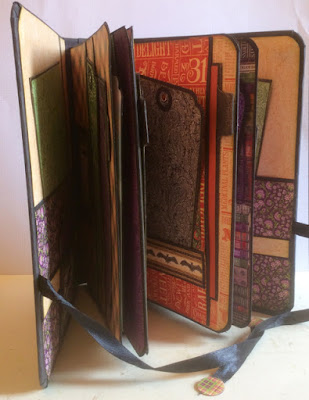 Rare Oddities Folio Album Clare Charvill GRaphic 45