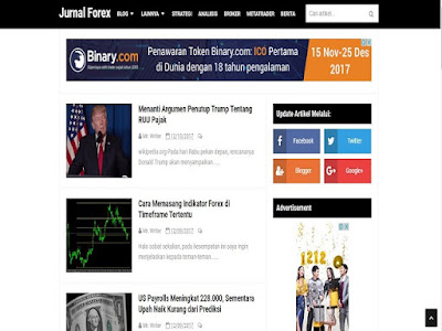 Jurnal Forex Blog