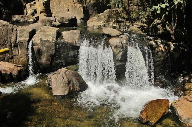 Cachoeira Pedro David, em São Francisco Xavier