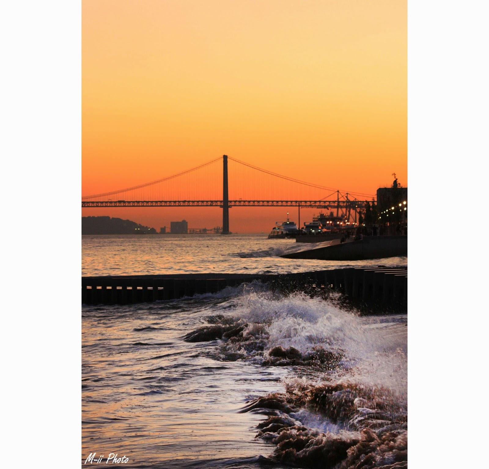 M-ii Photo : 10 choses à faire à Lisbonne Place du Commerce Coucher de soleil Lisbonne