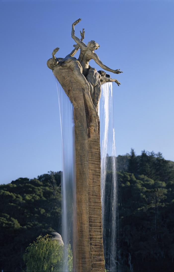 Richard MacDonald 1946 | American figurative sculptor | Three Graces