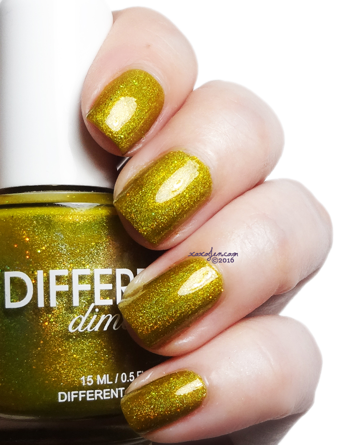 xoxoJen's swatch of Different Dimension Buttersweet Symphony