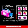 Electric Balloon Pump HT-501 / Pompa Balon Elektrik HT-501
