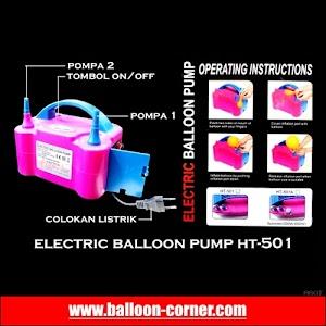 Electric Balloon Pump HT-501 / Pompa Balon Elektrik HT-501