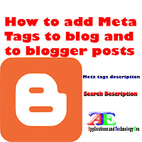 blogger meta tag description