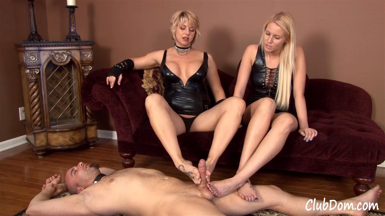 Goddess foot domination footjob first time