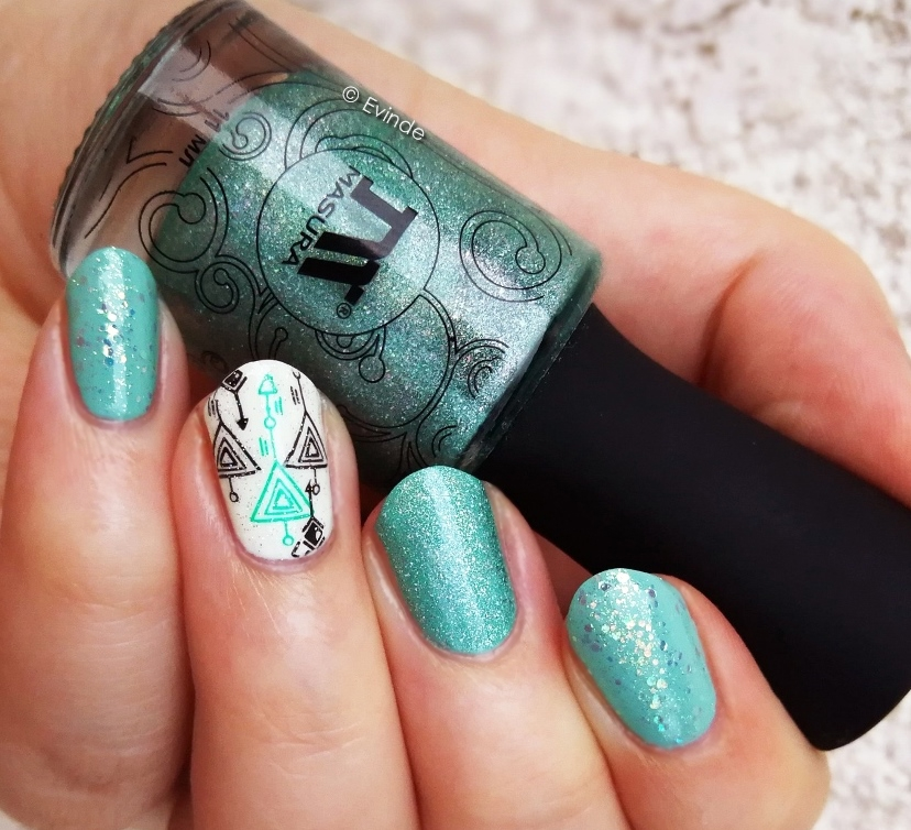 masura mint breeze nail polish