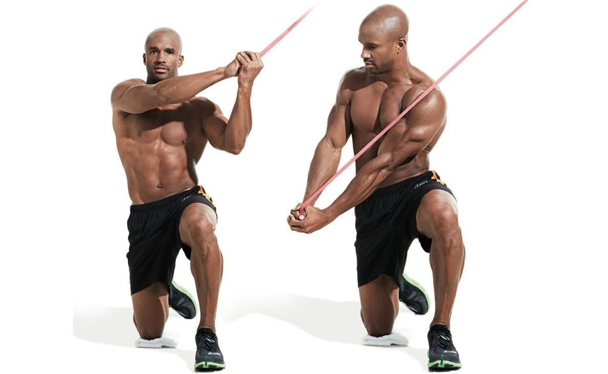 Exercícios com elástico (extensor), simples e fáceis de fazer!