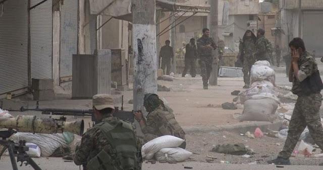 Σε φυγή οι τζιχανστιστές του Ισλαμικού Κράτους από τους Κούρδους της Συρίας