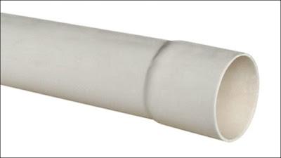 canos de PVC para esgoto