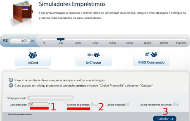 simular Emprestimo IBI