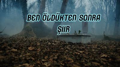 Ben Öldükten Sonra - Şiir