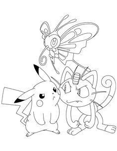 Tranh tô màu Pokemon 8