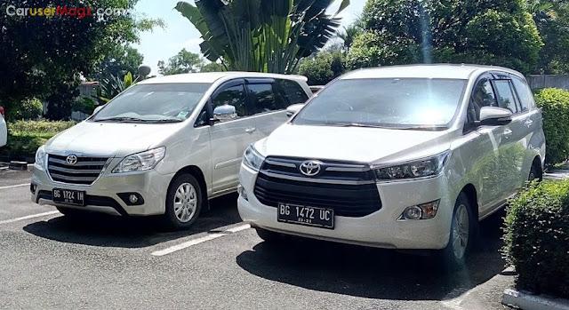 Toyota Innova Indonesia lintas generasi