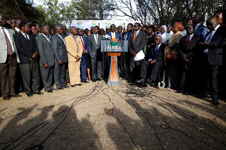 Raila Odinga Withdraws From Race