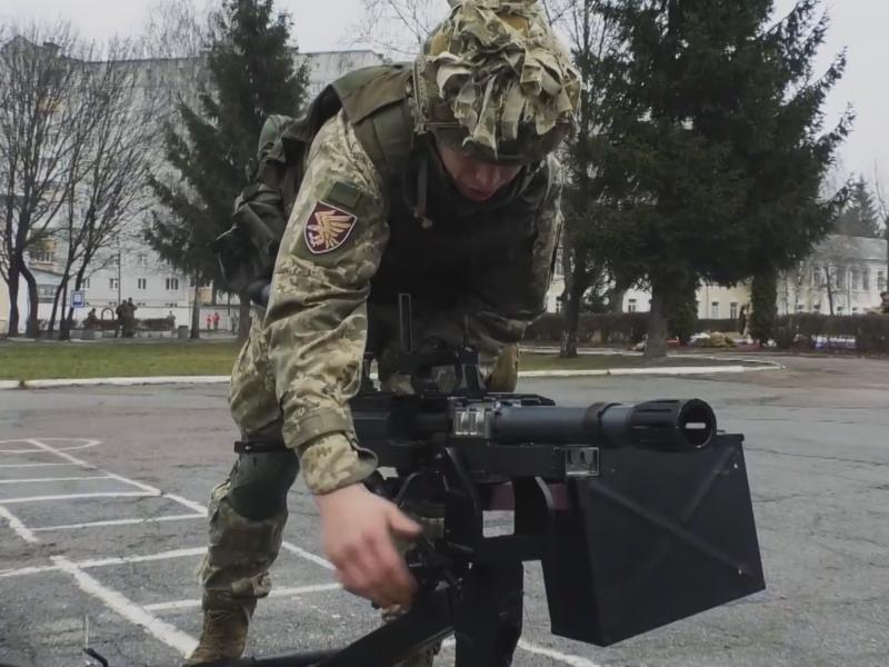 40-мм автоматичний гранатомет УАГ-40 на озброєння Десантно-штурмових військ ЗСУ