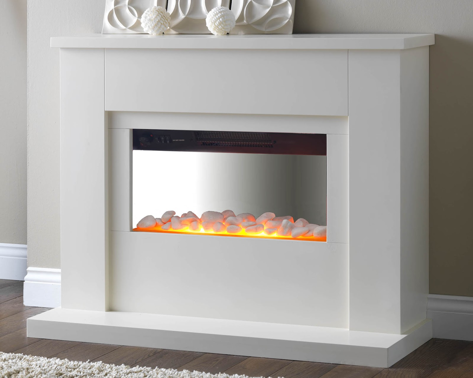 Electric Fires Pureglow Newport Electric Fireplace Suite