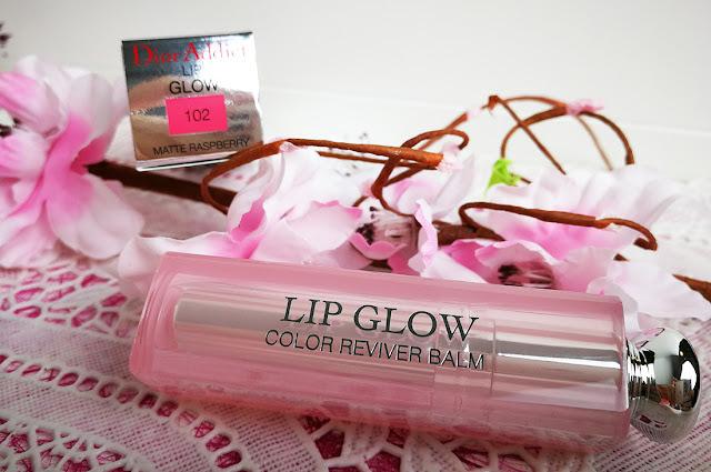 Dior Lip Glow 102 Matte Raspberry