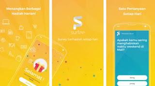surfee aplikasi penghasil pulsa android