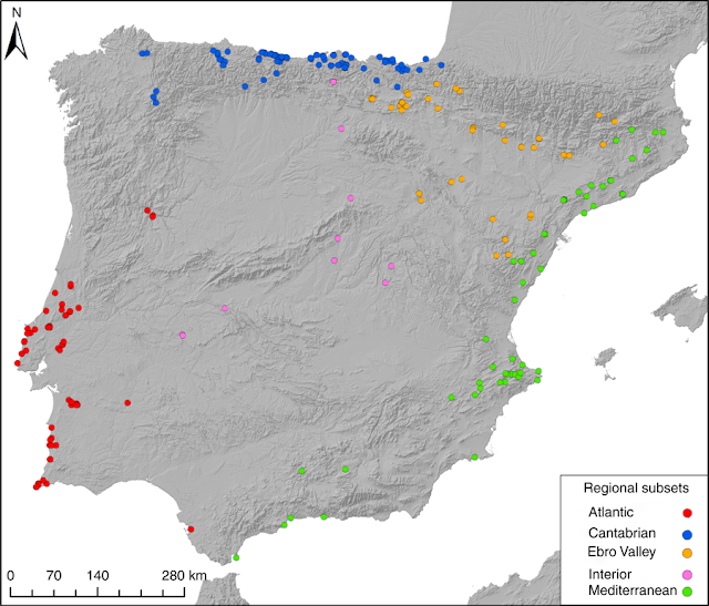 The population history of the last hunter-gatherers of the Iberian Peninsula