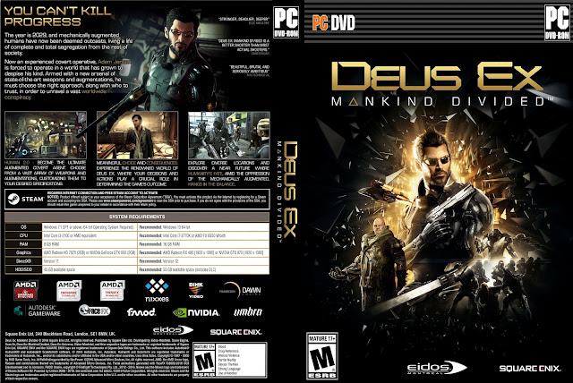 Capa Deus Ex Mankind Divided PC