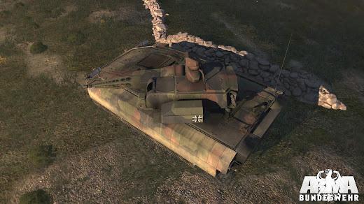 arma3 ドイツ連邦軍MODのPuma IFV