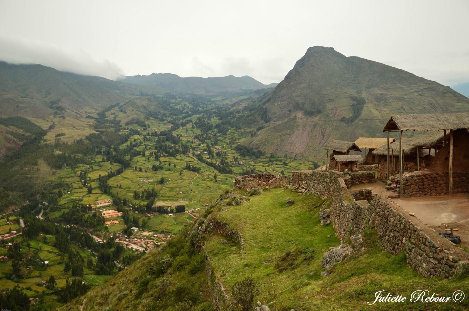 Pisaq au Pérou, site inca