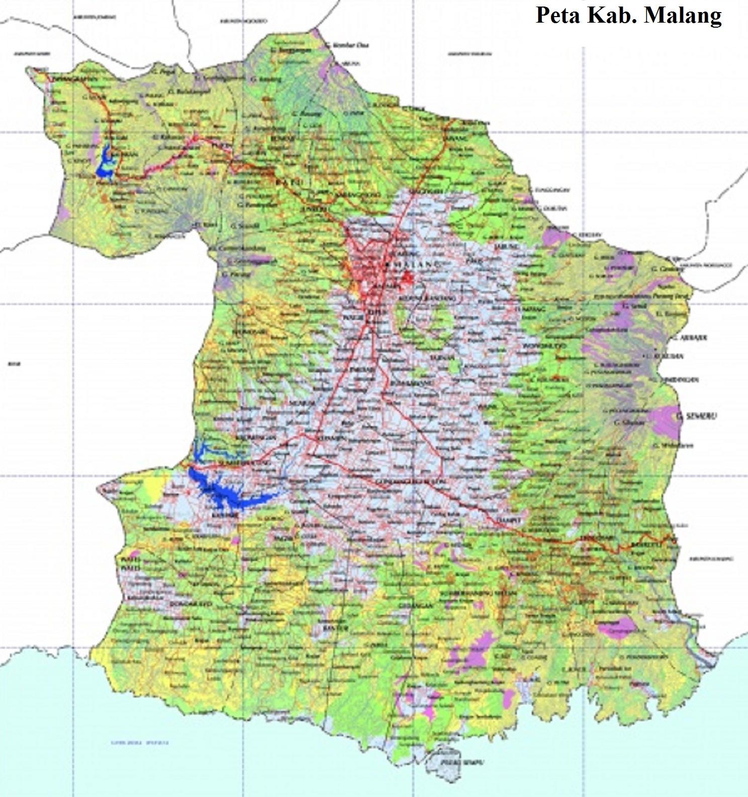 Peta Malang Raya