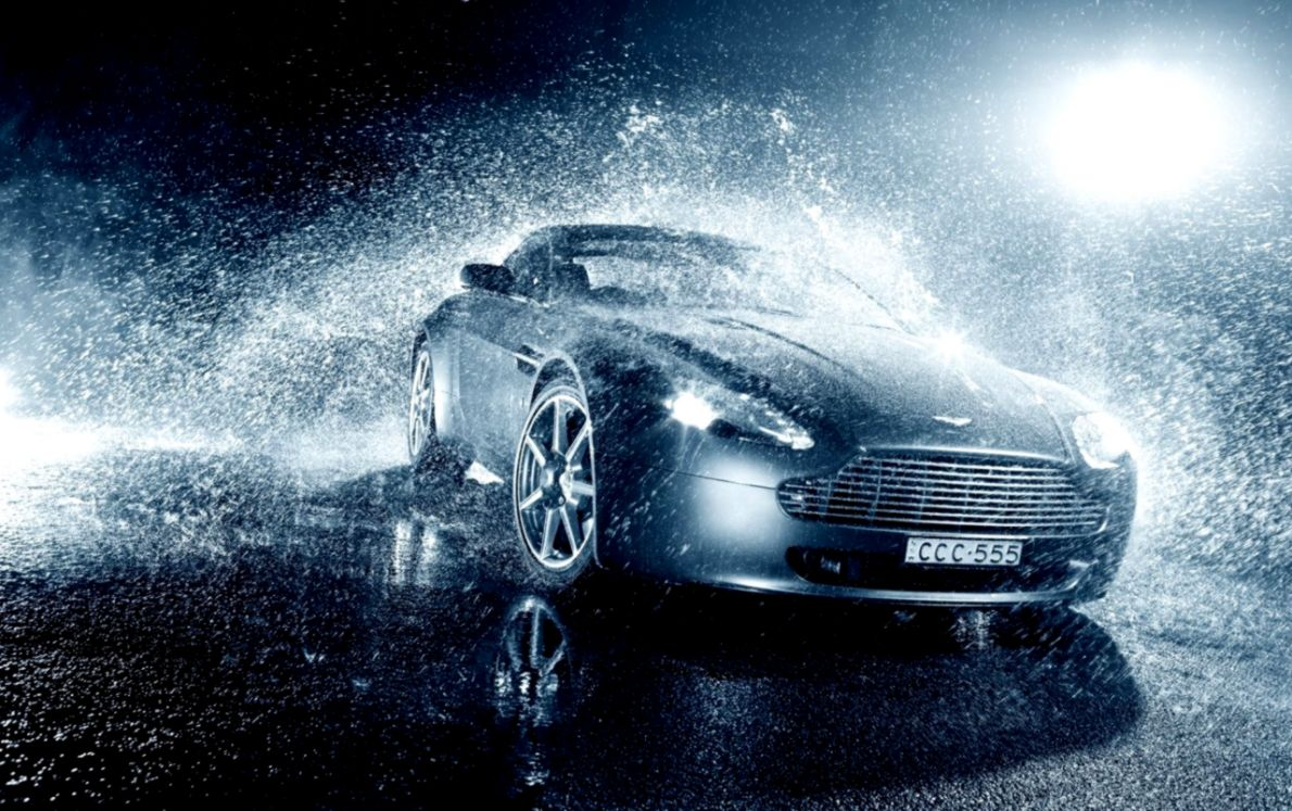 Cars Background Sport Cars On Rain | Barong Wallpapers